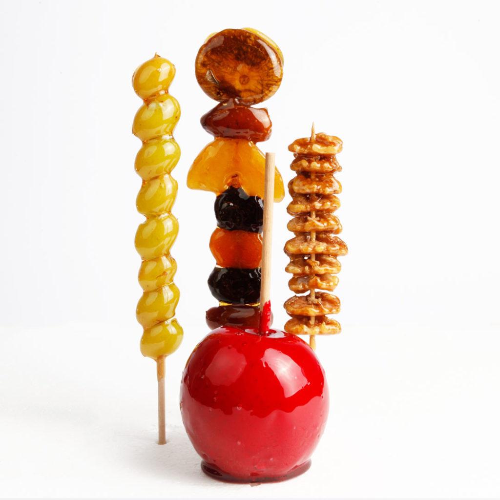 glasierte Früchte